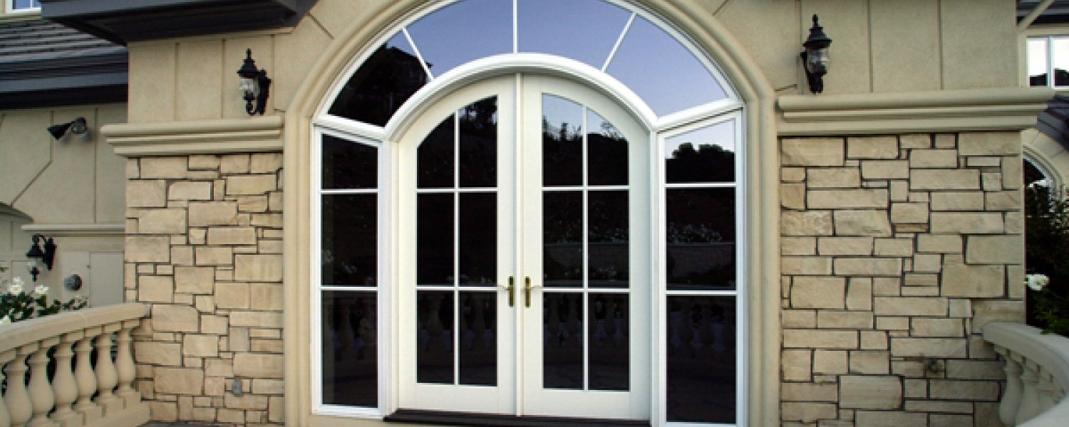 Arched Aluminum Clad Wood Entry Unit & Entry Doors by Kolbe