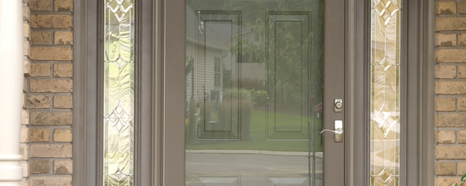 Provia storm doors cunningham door window for Full window exterior door
