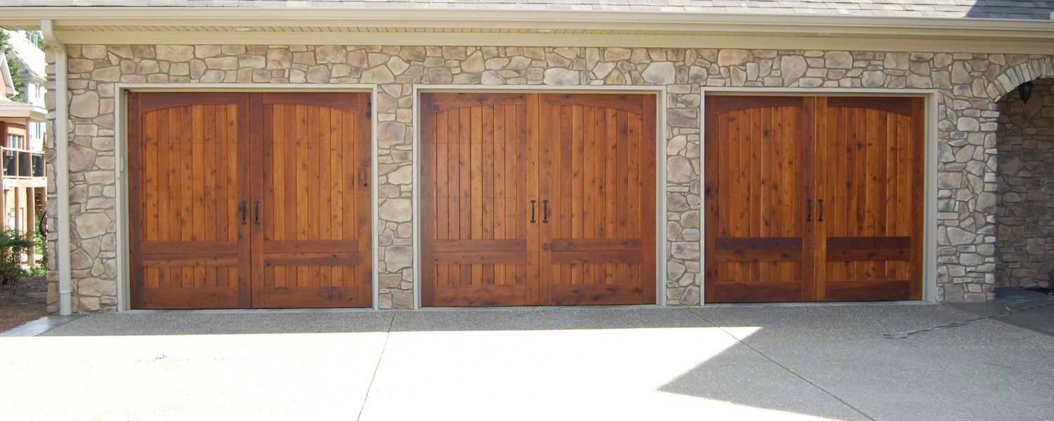 Garage doors by cunningham door window portobello6panel prestained cedar design 31 on steel rubansaba