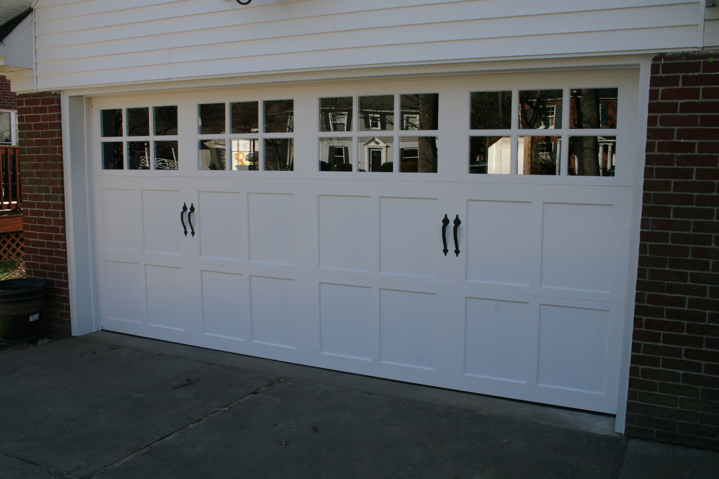 clopay reserve semi custom design 2 with sq23 - Clopay Garage Doors