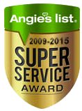 Angies List Super Service Award for Cunningham Garage Doors and Window