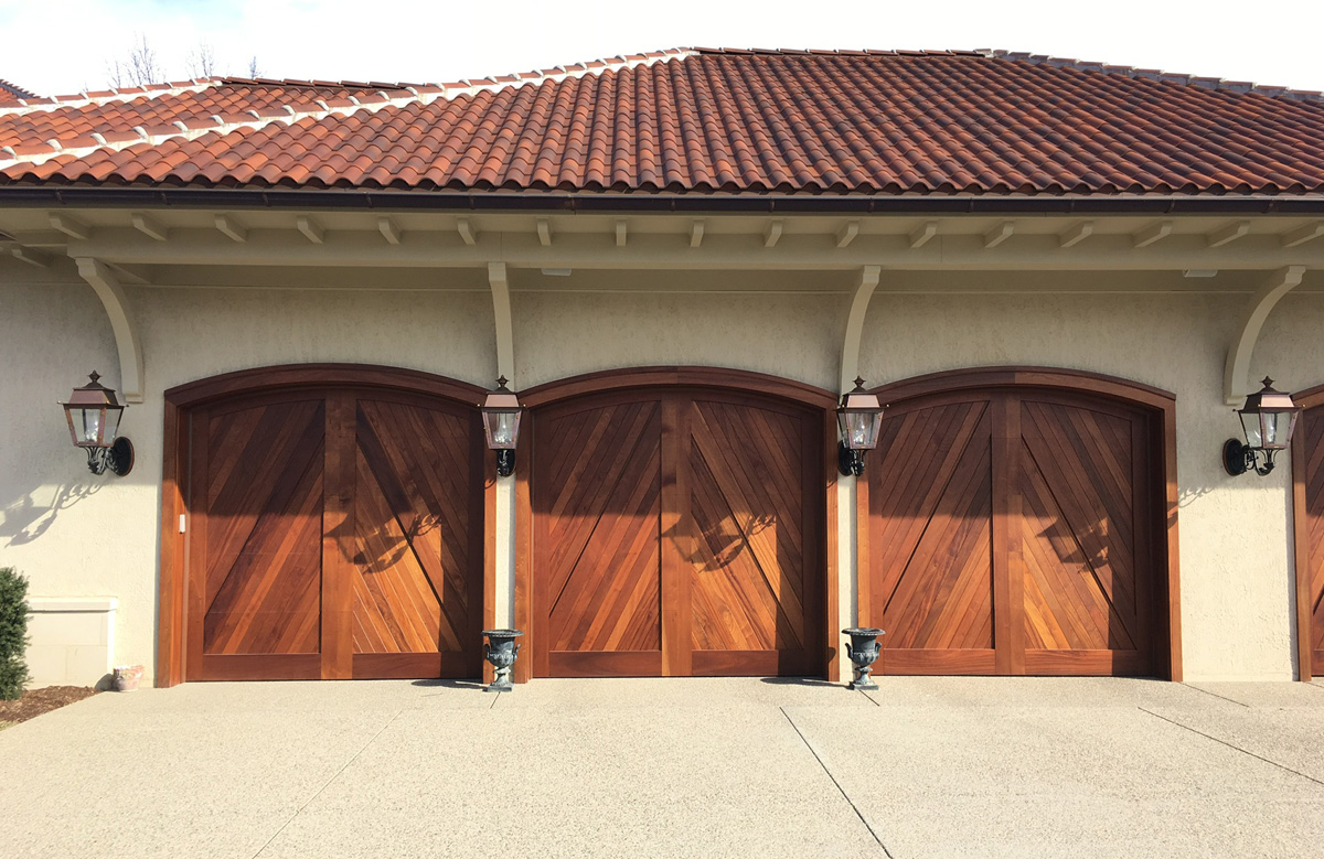 Awesome 10 X 8 Wood U0026 Composite Doors In Our Clifton Design, Built By Cunningham!