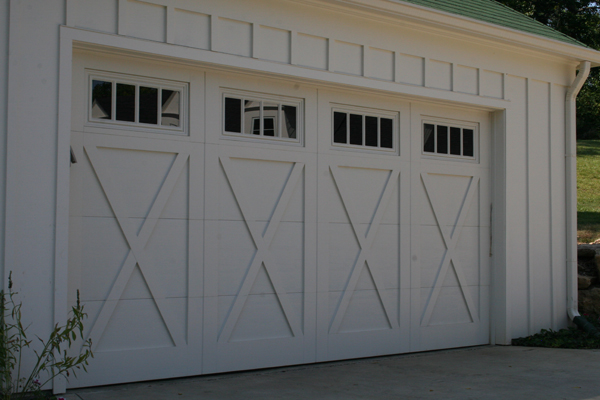 Garage doors by cunningham door window for 16 x 21 garage door panels