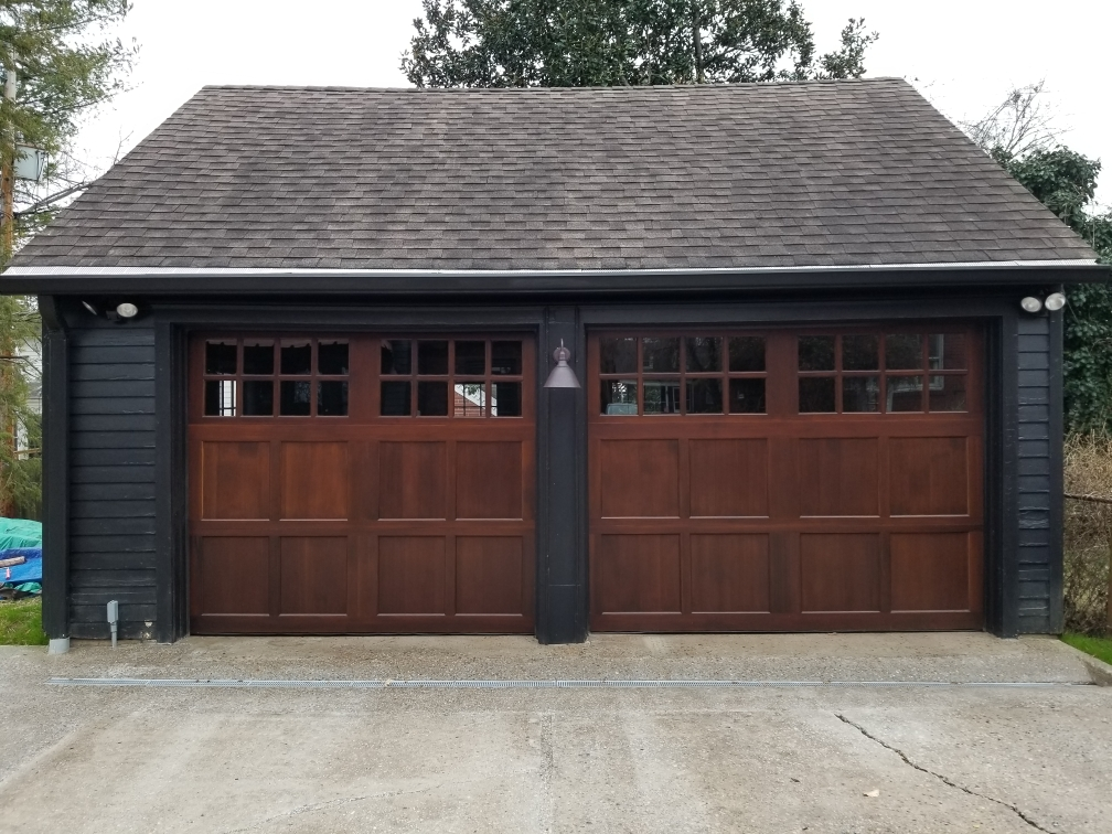 garage style patio doors