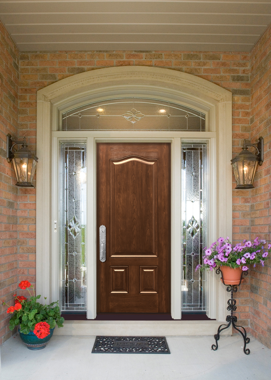 1599 #67452A Entry Doors By Provia Cunningham Door & Window image Stainable Fiberglass Entry Doors 40231140